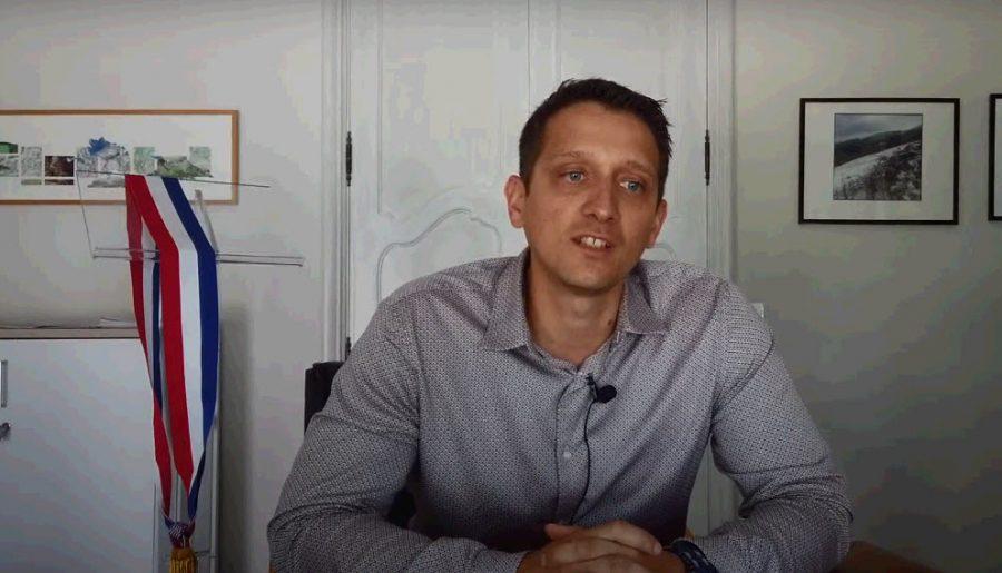 Découvrez le nouveau et jeune maire d'Aussillon : Fabrice Cabral