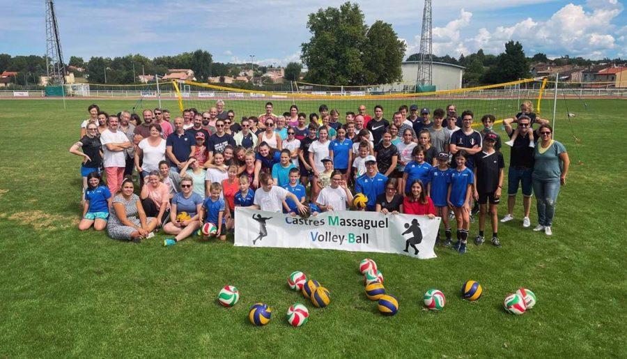 Castres-Massaguel Volley-Ball : nouveaux dirigeants, nouvelles ambitions